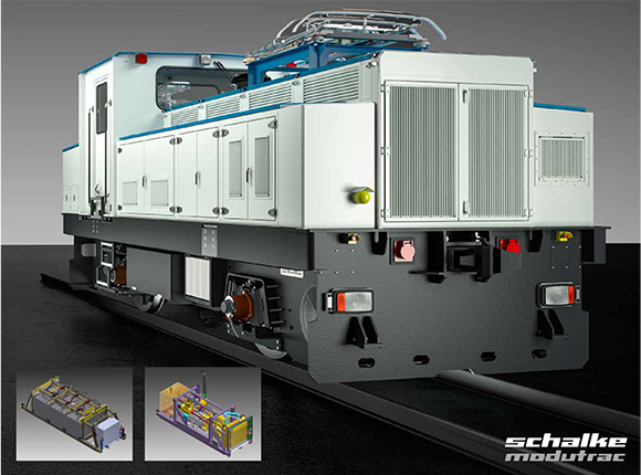 Modular Multi System Production Locomotive