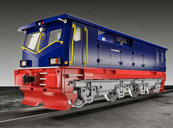Multi System Production Locomotive